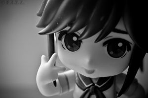 Manaka Close-up by thechevaliere