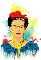 frida kahlo by bigabi