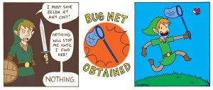 Zelda: Bug Net by joshnickerson
