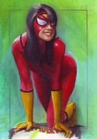 Spider-Woman SM archives 2 by charles-hall