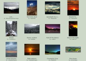 May Submissions 14th-15th by Scapes-club