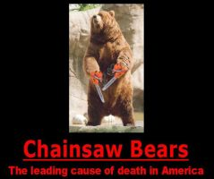 Chainsaw Bears by psbox362