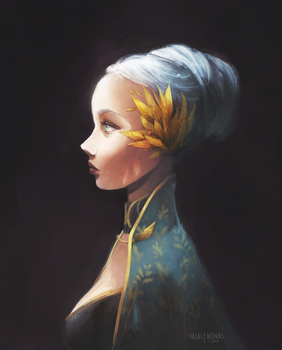 Bust by valentina-s