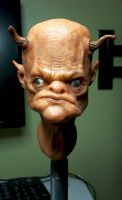 sculpey head by masocha
