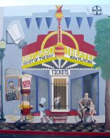Hayward Streetscape: Hayward Theater by SuzanneGayle