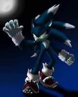Sonic the Werehog by Sweecrue