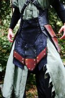 Leather War Kilt Armor by Epic-Leather