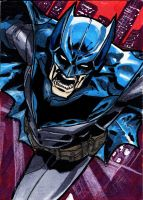 Batman Sketch Card 1 by Sigint