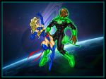 MsMarvel vs Green Lantern by Toadman005