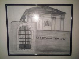 Vizatim Kisha - Drawing Cathedral_02 by eduaarti