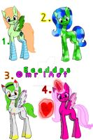MLP 50 theme challenge- Set 1 by EmeraldAdopts