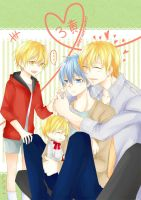 3xKise=3xHappy!!! by rei-vinne