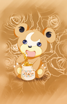 Teddiursa Chunkey Honey Drop by SweetKarleeta