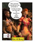 Guild Wars 2 RnR Roc and Roxy Funny Cartoons 81 by rocdisjoint