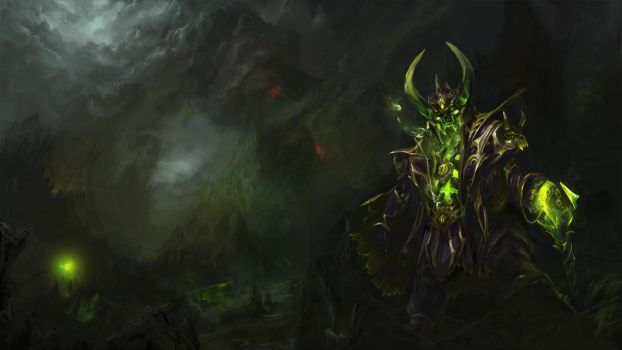 Narcissistic Leech - Pugna set's Loading screen by TrungTH
