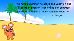 Efil is on vacation by efilvega