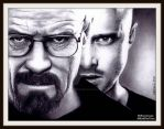 Walt and Jesse - BREAKING BAD by Doctor-Pencil