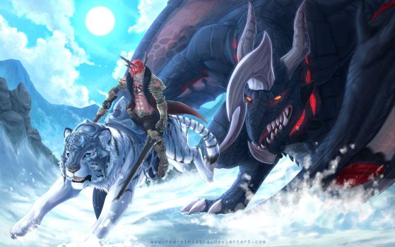 Tera: Winter Loading Screen contest - 2014 by Red-Sinistra