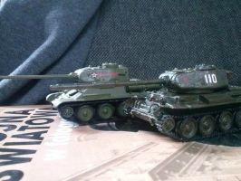 T-34/85 and T-34/125 by Smokorys