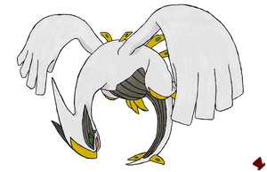 Lugia is an Arceus by MadHatter-Himself