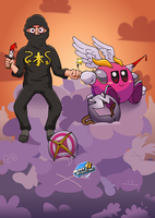 NSP Kirby Crossover (Part 2) by MarkProductions