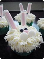 Easter Bunny Cupcakes by cake4thought