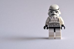 Lego Stormtrooper by masimage