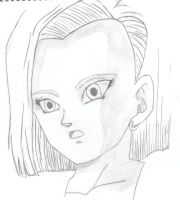 android 18 xD by aaa444nne