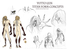 TH: Yutto Lein Titan form concepts by dNiseb