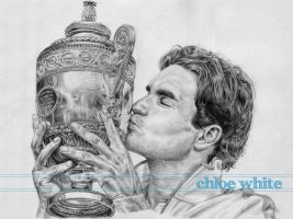 Roger Federer - Love Affair by chloe-white
