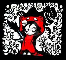 Le Mini Chaperon Rouge / The little riding hood by Nydenlafee