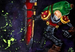 Singed - League of Legends by littlemissysg