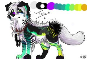 isac the sparkledog by Aibyou