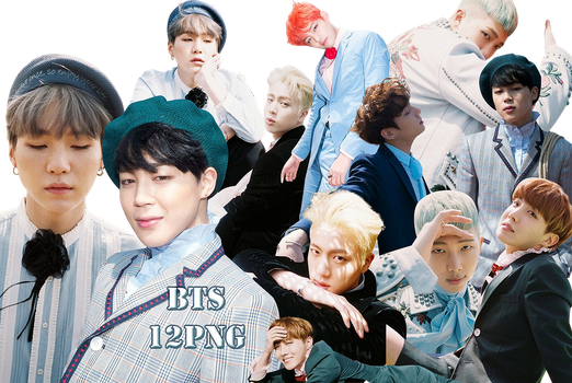 BTS PNG Pack {Young Forever} by kamjong-kai