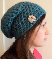 slouchychunky hat by Brookette