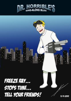 Dr. Horrible by NoahConners