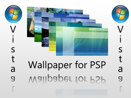 Wallpaper Vista Official PSP by Tone94