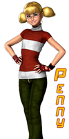 Penny in Sweater by Idelacio