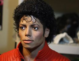 Michael Jackson 2.0 lifesize bust angle 2 by godaiking
