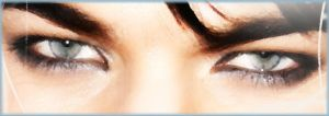 Adam Lambert Eyes by CattttMD