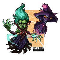Krobelus - the Ghost Gym Leader by jasonwang7