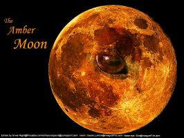 The Amber Moon by SilverNight1079