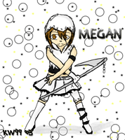 contest entery: Megan by Engelmoon