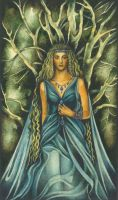 Finduilas, King Orodreth's daughter of Nargothrond by ebe-kastein