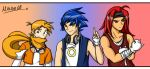 Sonic Heroes - Humanized by LightningGuy