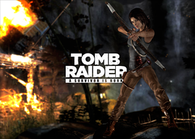 Tomb Raider - Unofficial XNA Lara Wallpaper by TombRaider-Survivor