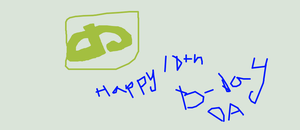 Happy 10th Birthday dA by CourtEatsYourFries