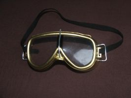 Brass goggles by Aethergoggles
