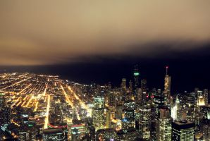 Chicago Overview. by ippiki-wolf