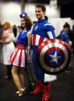 Captain America - May Expo 2012 by ICannotDrawToSaveMe